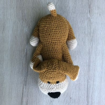doudou-tricot-crochet-Rouky-chien-1