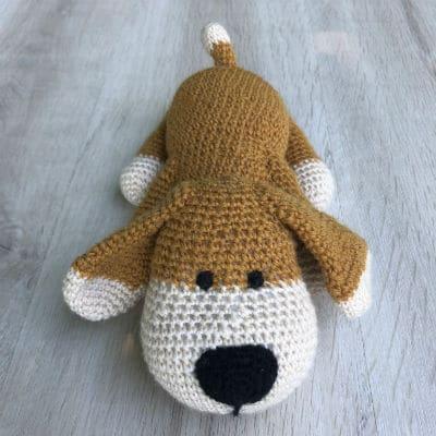 doudou-tricot-crochet-Rouky-chien-2